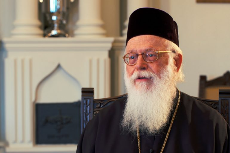 Ο Αλβανίας Αναστάσιος για το γεγονός της Αναλήψεως (ΒΙΝΤΕΟ)