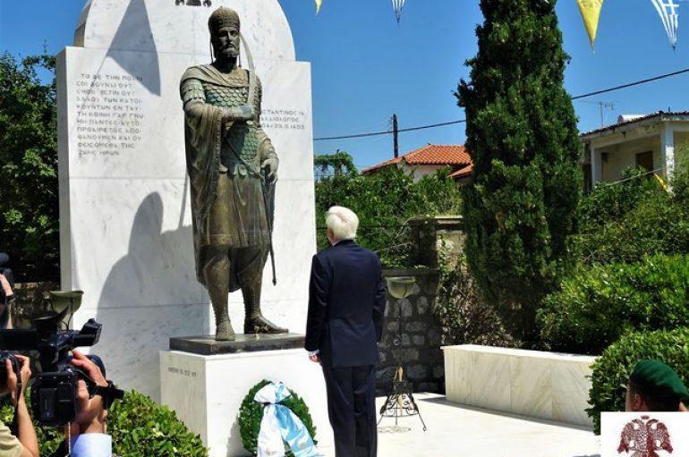 Παρουσία του ΠτΔ εορτάστηκαν τα Παλαιολόγεια στο Μυστρά (ΦΩΤΟ)
