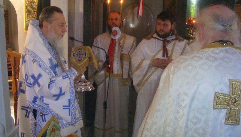 Η εορτή του Αγίου Θεράποντος στην Ι. Μ. Κορίνθου (ΦΩΤΟ)