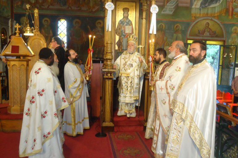 Λαμπρή Πανήγυρις του Ι. Ναού Αγίας Τριάδος Κεραμεικού (ΦΩΤΟ)