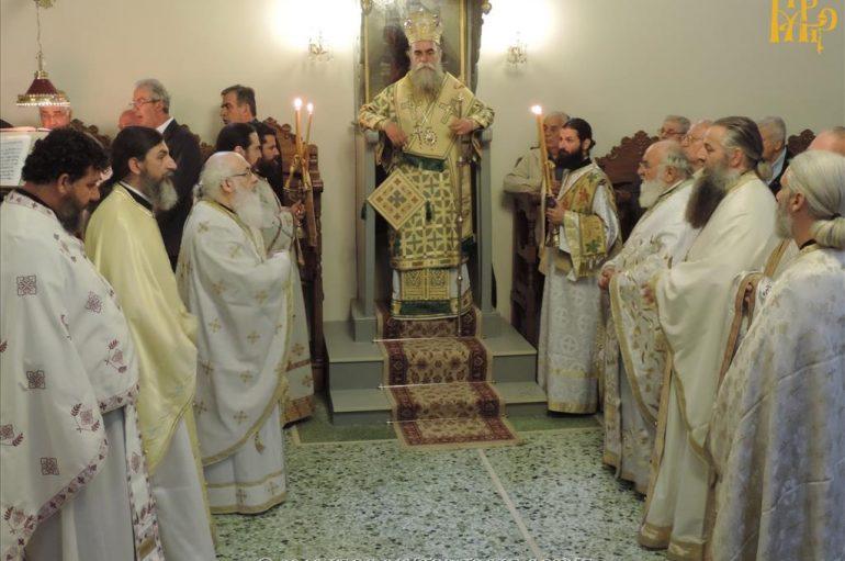 Ο εορτασμός του Αγίου Ιωάννου του Θεολόγου στην Ι. Μ. Άρτης (ΦΩΤΟ)