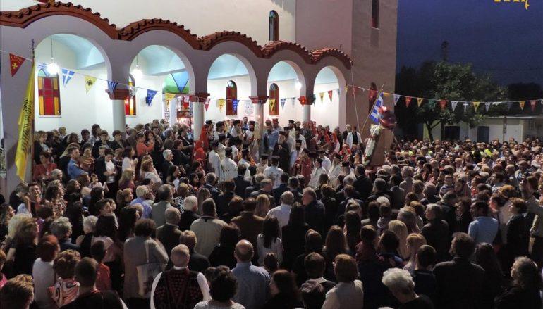 Πανηγυρικός Εσπερινός του Αγ. Θεράποντος στους Αγίους Αναργύρους Άρτης