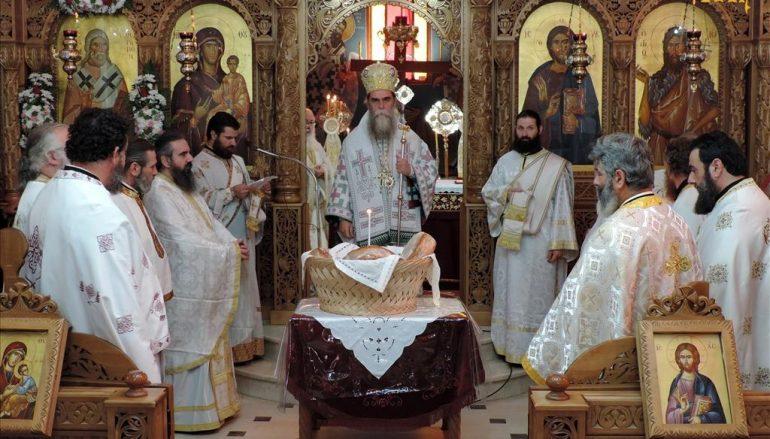 Η εορτή του Αγίου Θεράποντος στους Αγίους Αναργύρους Άρτης (ΦΩΤΟ)