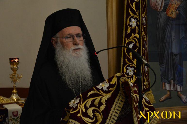 Ομιλία του Αρχιμ. Χρυσοστόμου Ζαχαρόπουλου στην Τρίπολη (ΦΩΤΟ)