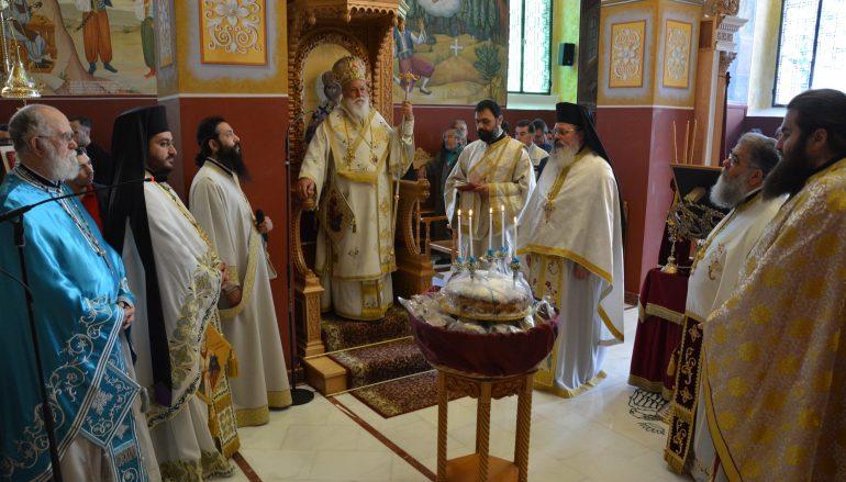 Λαμπρός ο εορτασμός του Αγίου Γερμανού στην Τρίπολη (ΦΩΤΟ)