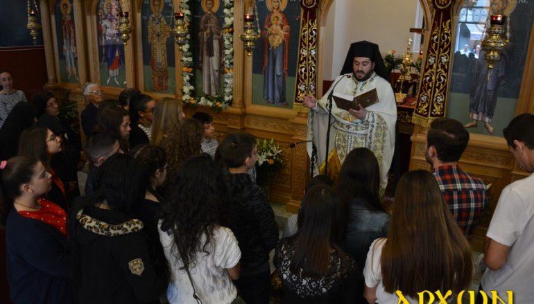 Θεία Λειτουργία για τις Πανελλήνιες εξετάσεις στην Τρίπολη (ΦΩΤΟ)