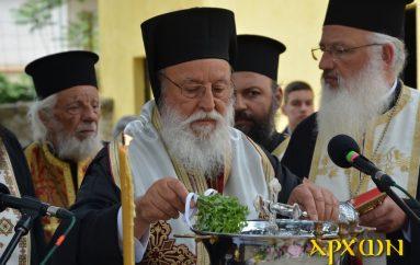 Εγκαίνια κωδωνοστασίου Ι. Ναού Παμμ. Ταξιαρχών Τρίπολης (ΦΩΤΟ)