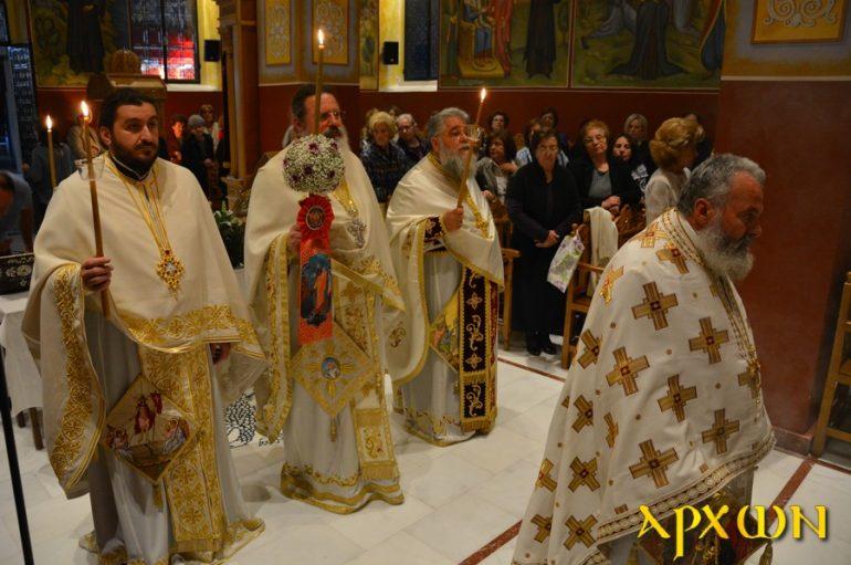 Ιερά Αγρυπνία επί τη Αποδόσει της εορτής του Πάσχα στην Τρίπολη (ΦΩΤΟ)