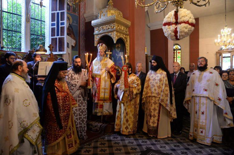 Εόρτασε ο Ι. Ναός Αγ. Ιωάννου του Θεολόγου Επισκοπείου Πατρών