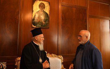 Επίσκεψη του Ιβάν Σαββίδη στον Οικ. Πατριάρχη (ΦΩΤΟ)