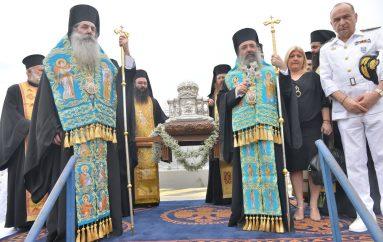 Ο Πειραιάς υποδέχθηκε την Κάρα του Αγίου Ανδρέα (ΦΩΤΟ)