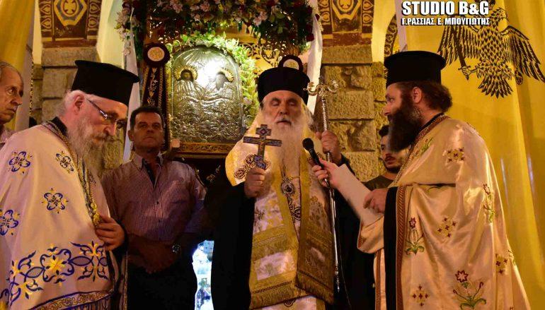 Εσπερινός του Αγίου Πνεύματος στην Ι. Μ. Αργολίδος (ΦΩΤΟ – ΒΙΝΤΕΟ)
