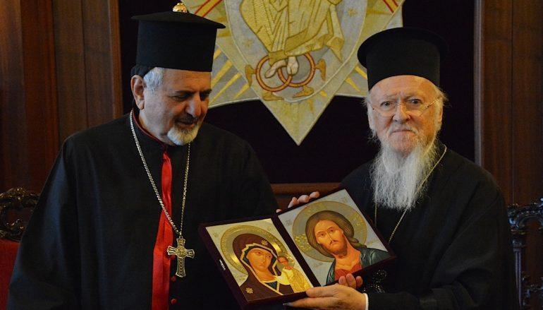 Ο Συροκαθολικός Πατριάρχης Αντιοχείας στο Οικουμενικό Πατριαρχείο (ΦΩΤΟ)