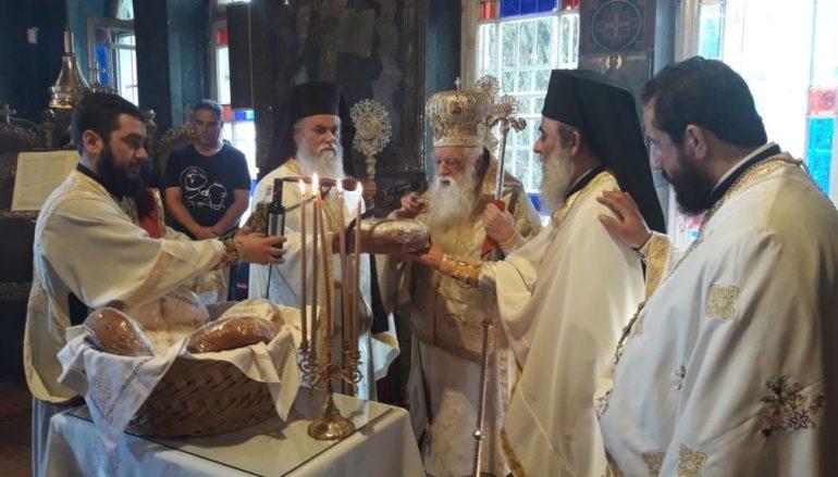 Η εορτή του Αγίου Πνεύματος στην Ι. Μ. Καλαβρύτων (ΦΩΤΟ)