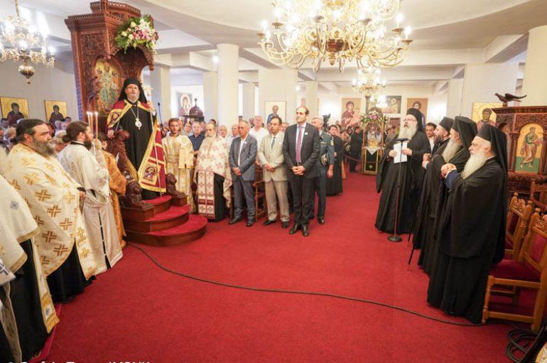 Πολυαρχιερατικός Εσπερινός για τον Άγιο Λουκά στην Ι. Μ.Παναγίας Δοβρά (ΦΩΤΟ)