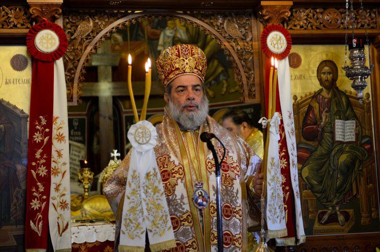 Η εορτή της Αγίας Ειρήνης στην Ι. Μητρόπολη Μεσσηνίας (ΦΩΤΟ)