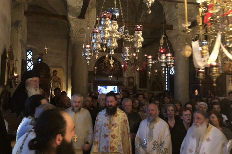 Εορτή Αγ. Νικολάου του Νέου στην Ι. Μονή Αγίου Νικολάου Καμπιών (ΦΩΤΟ)