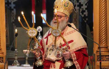 Πατριαρχική Θεία Λειτουργία στην Ι. Μονή Παναγίας του Έβρου (ΦΩΤΟ)