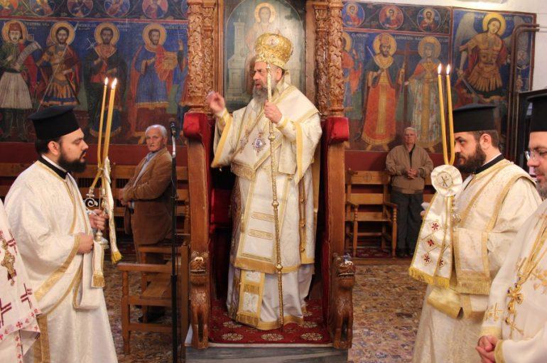 Εορτή του Αγίου Ιωάννου του Θεολόγου στην Ι. Μ. Θεσσαλιώτιδος (ΦΩΤΟ)