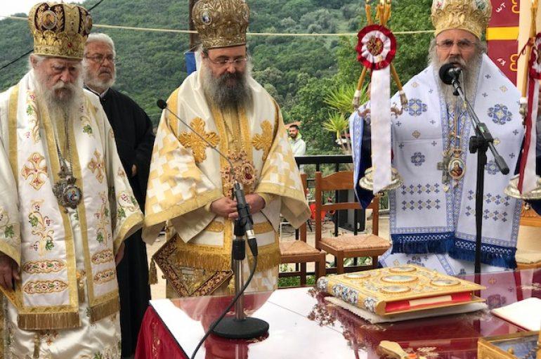 Η Παμπελοποννησιακή εορτή του Αγίου Νικολάου στα Σπάτα Αχαΐας (ΦΩΤΟ)