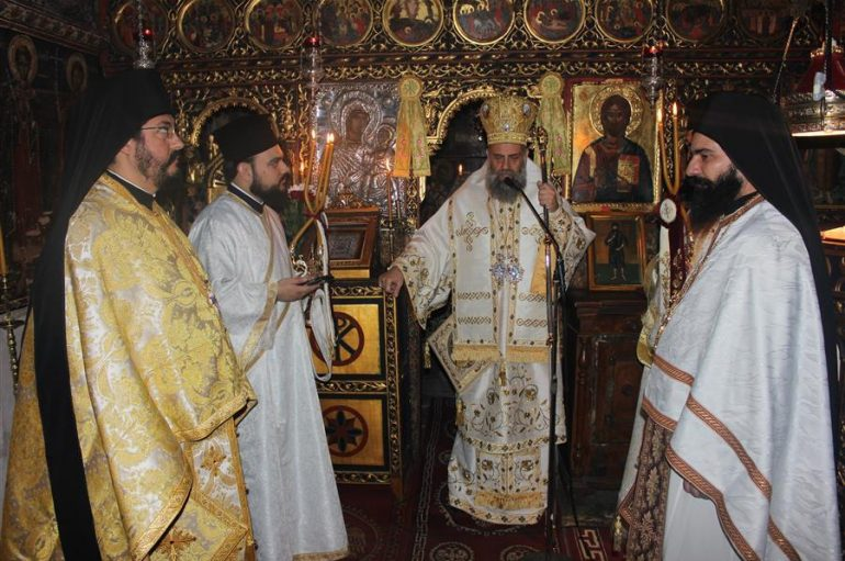 Η εορτή της Αναλήψεως στην Ι. Μονή Παναγίας Πελεκητής (ΦΩΤΟ)