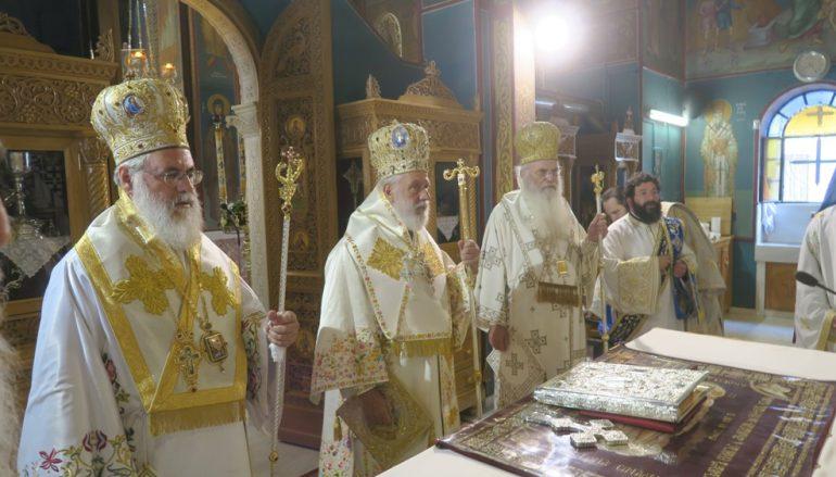 Η εορτή της Αγίας Ισαποστόλου Φωτεινής στα Σπάτα (ΦΩΤΟ)