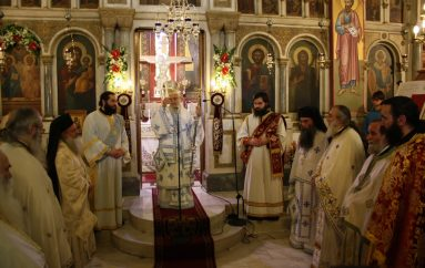 Με λαμπρότητα πανηγύρισε ο Ι. Ναός Αγίας Τριάδος Αγρινίου (ΦΩΤΟ)