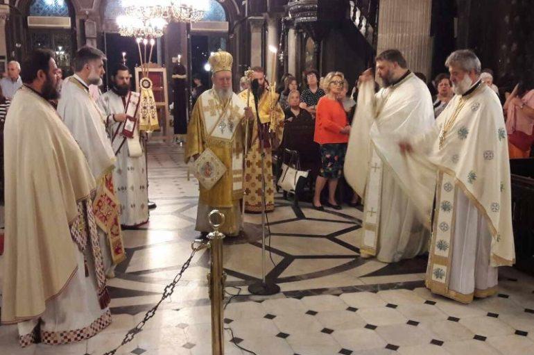 Ιερά Αγρυπνία για την εορτή της Αναλήψεως στην Χαλκίδα (ΦΩΤΟ)