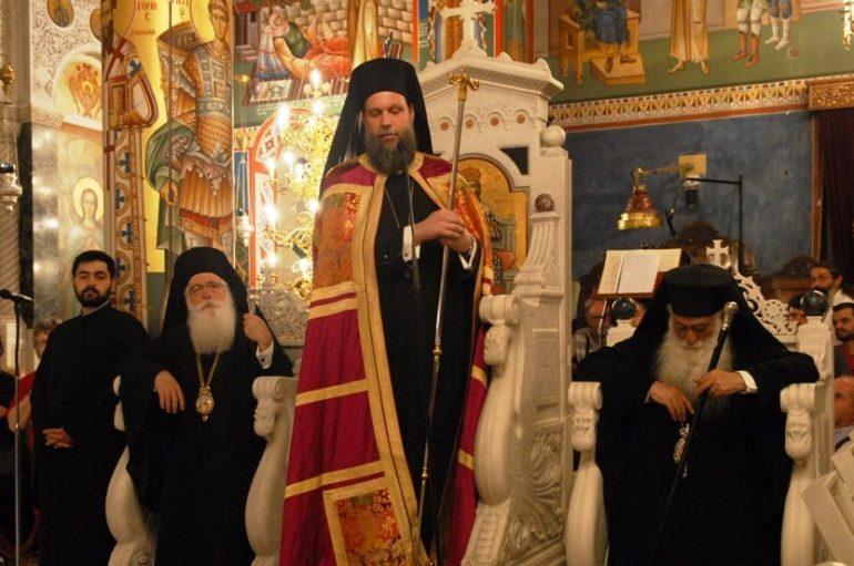 Πολυαρχιερατικός Εσπερινός για τον Όσιο Ιωάννη το Ρώσσο στην Εύβοια (ΦΩΤΟ)