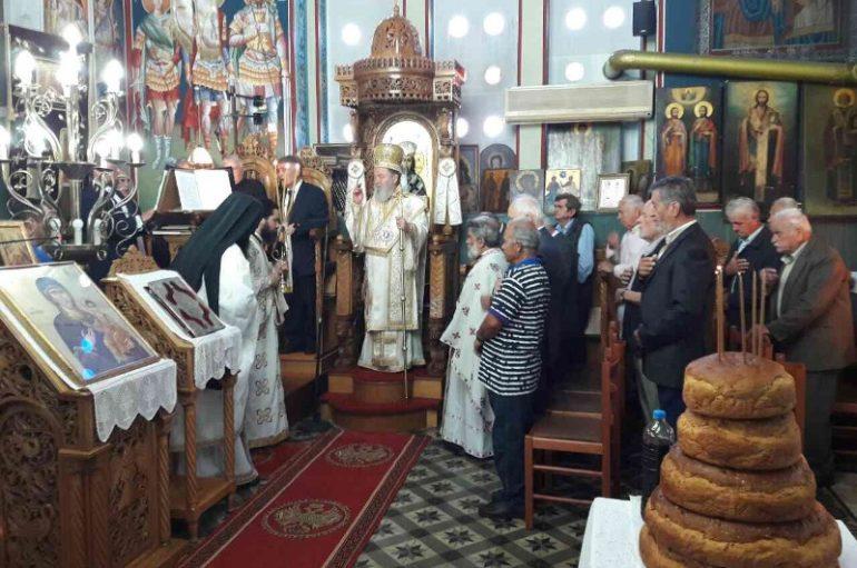 Η εορτή των Αγίων Κωνσταντίνου και Ελένης στην Χαλκίδα (ΦΩΤΟ)