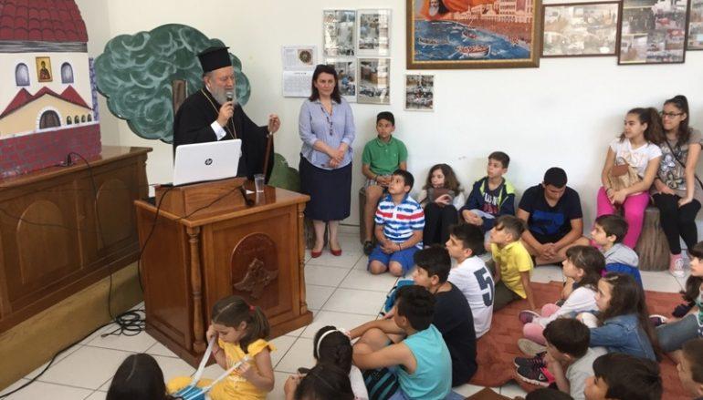 Παρουσίαση του παιδικού βιβλίου για τον Άγιο Ιάκωβο στην Ι. Μ. Χαλκίδος