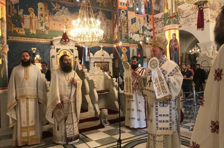 Σάββατο των ψυχών στο Προσκύνημα του Οσίου Ιωάννου του Ρώσσου (ΦΩΤΟ)