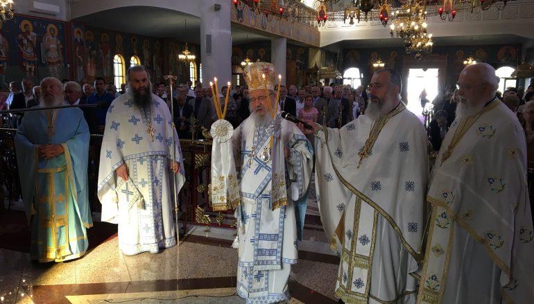 Η εορτή των Αγίων Κωνσταντίνου και Ελένης στο Αγρίνιο (ΦΩΤΟ)