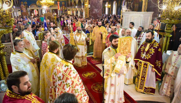 Η εορτή του Αγίου Θεράποντος στην Ι. Μητρόπολη Λαγκαδά (ΦΩΤΟ)