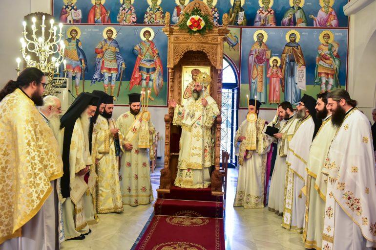 Η εορτή των Αγίων Κωνσταντίνου και Ελένης στην Ι. Μ. Λαγκαδά (ΦΩΤΟ)