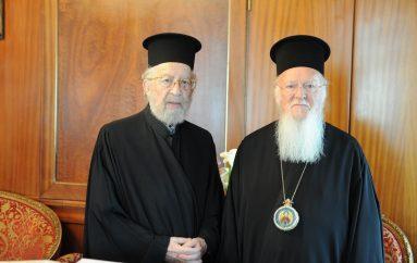 Τρισάγιο του Οικ. Πατριάρχη στο μακαριστό Μητροπολίτη Πέργης