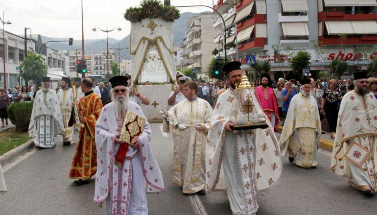Λαμπρός ο εορτασμός της Αναλήψεως στην Καλαμάτα (ΦΩΤΟ)