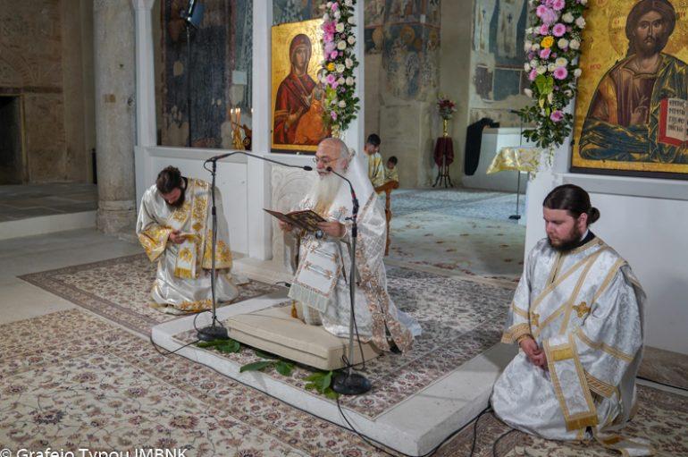 Κυριακή της Πεντηκοστής στην Ι. Μητρόπολη Βεροίας (ΦΩΤΟ)