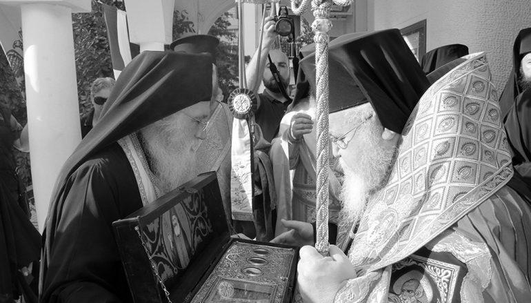 Τα Ιερά Λείψανα του Αγίου Φιλουμένου στην Ι. Μ. Καισαιριανής (ΦΩΤΟ)