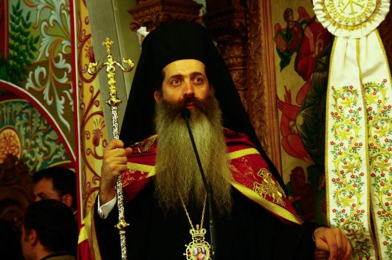 O Eπίσκοπος Θεσπιών στον Εσπερινό της Αναλήψεως Κυρίου Νέου Κόσμου (ΦΩΤΟ)