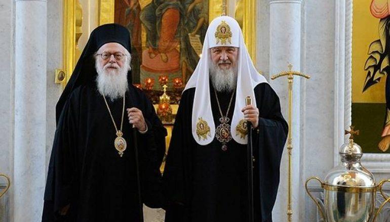 Αλβανίας: «Η επίσκεψη του Πατριάρχη Μόσχας διακηρύτει την ενότητα της Ορθοδοξίας»