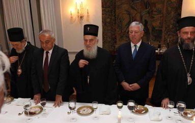 Δείπνο στην Ιερά Σύνοδο του Πατριαρχείου Σερβίας παρέθεσε ο Πρίγκιπας Αλέξανδρος
