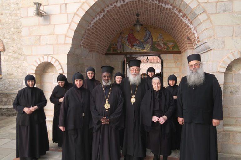 Ο Μητροπολίτης Μουάνζα Ιερώνυμος στη Λαμία (ΦΩΤΟ – ΒΙΝΤΕΟ)