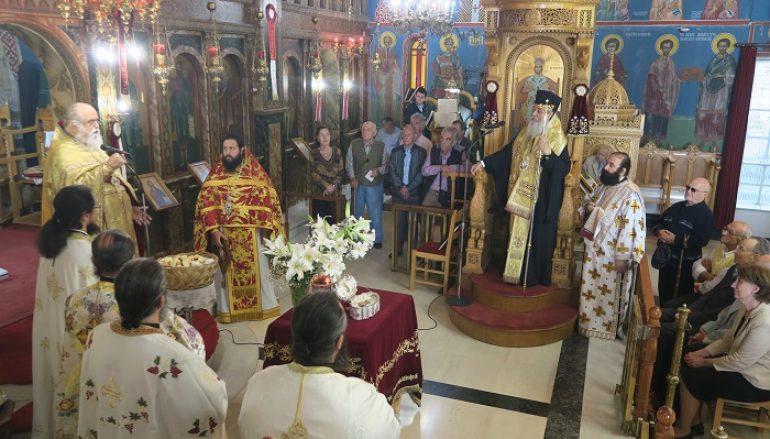 Η Εορτή του Αγίου Χριστοφόρου στα Καμένα Βούρλα (ΦΩΤΟ)