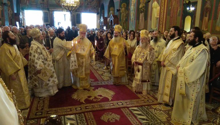 Το Αγρίνιο πανηγύρισε τον Πολιούχο του Άγιο Χριστοφόρο (ΦΩΤΟ)