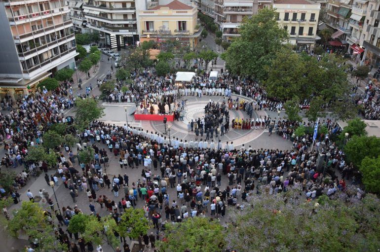 Πάνδημη Λιτάνευση του Αγίου Χριστοφόρου στο Αγρίνιο (ΦΩΤΟ)