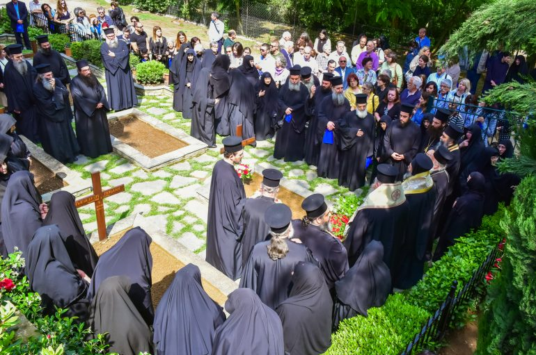 Μνημόσυνο της Καθηγουμένης της Ι. Μ. Κοιμ. της Θεοτόκου Πανοράματος