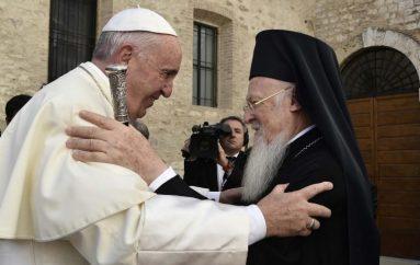 Ο Οικουμενικός Πατριάρχης ανεχώρησε για την Ρώμη
