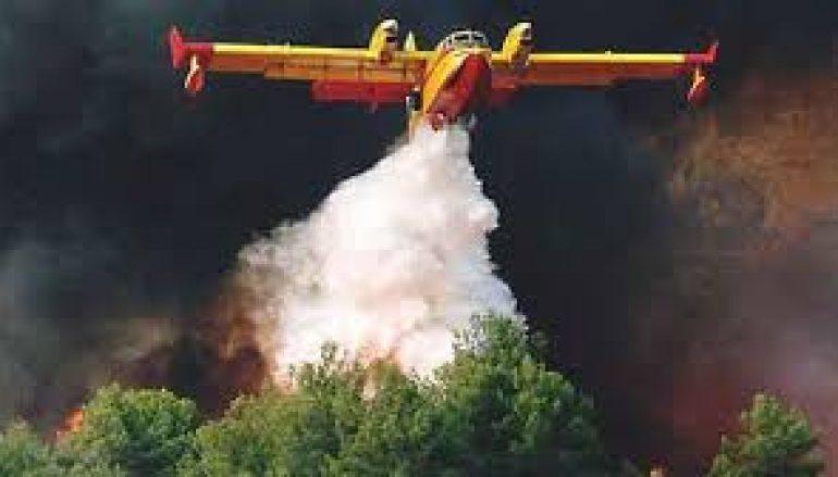 Πυρκαγιά σε δασική έκταση στο Άγιον Όρος
