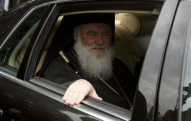 Ψευδής η επίθεση στο αυτοκίνητο του Αρχιεπισκόπου